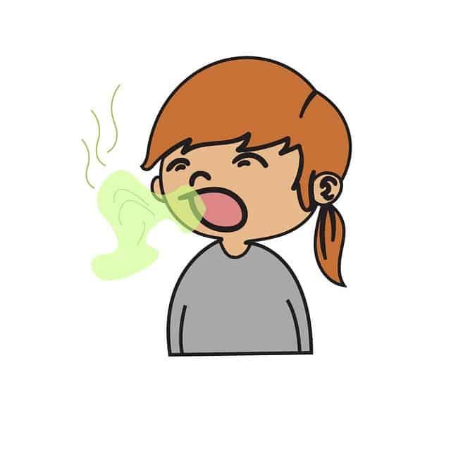 bad breath child