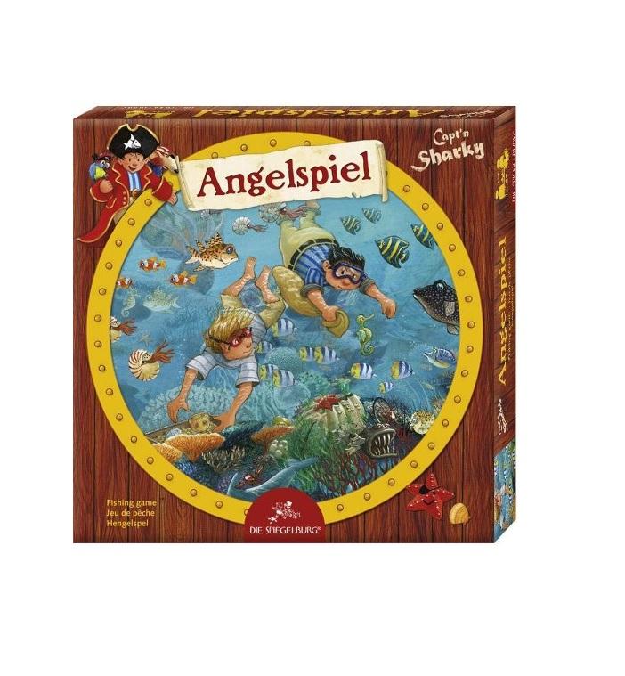 Capt\'n Sharky Angelspiel - Kinderspielmagazin