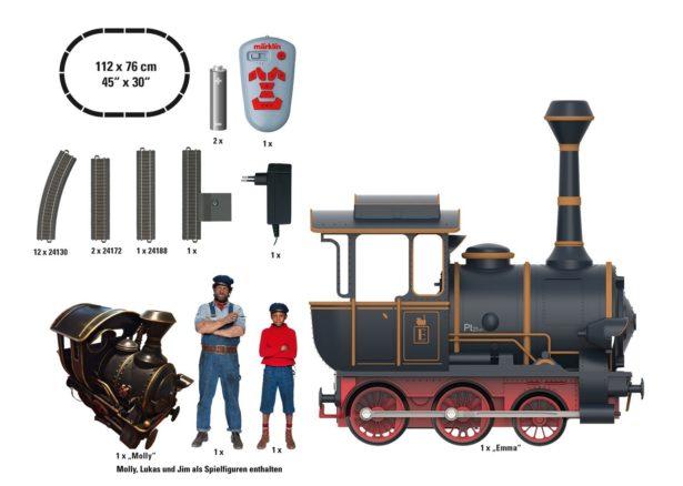Marklin Start Up Jim Knopf Und Lukas Der Lokomotivfuhrer Familienspielmagazin