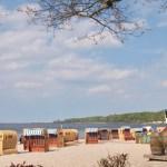 Strandkiosk und Spielplatz