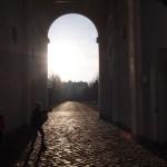 Zugang zum Hof - Schloss Salzau