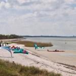 Surferlager - Strand von Stein
