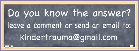 do you know? please share with the rest of the class!