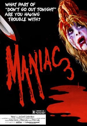 maniac sequel slasher