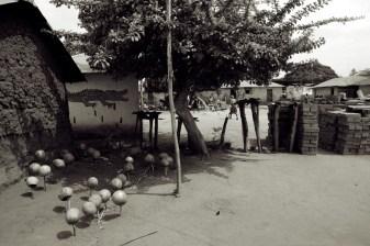 in Benin is voodoo overal zichtbaar aanwezig