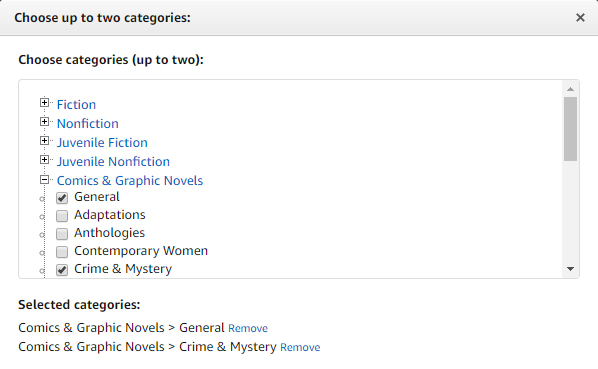 Kdp Category Browser List Of All Amazon Book Categories