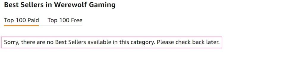 kindle categories