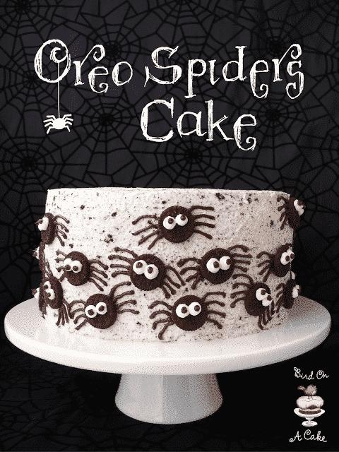 Oreo Spiders Cake 2 Title