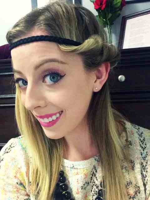tuck and cover with side braid tutorial