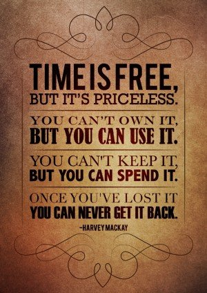 Time is Precious-Don't Let It Be Stolen