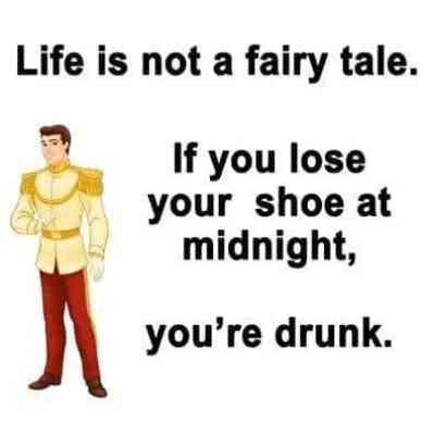 Life is not a fairy tale, Cinderella Meme