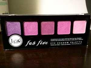 Jcat Fab Five Eyeshadow Palette