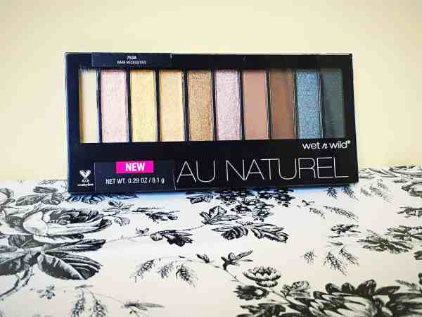 Wet n' Wild Au Naturel Eyeshadow Palette