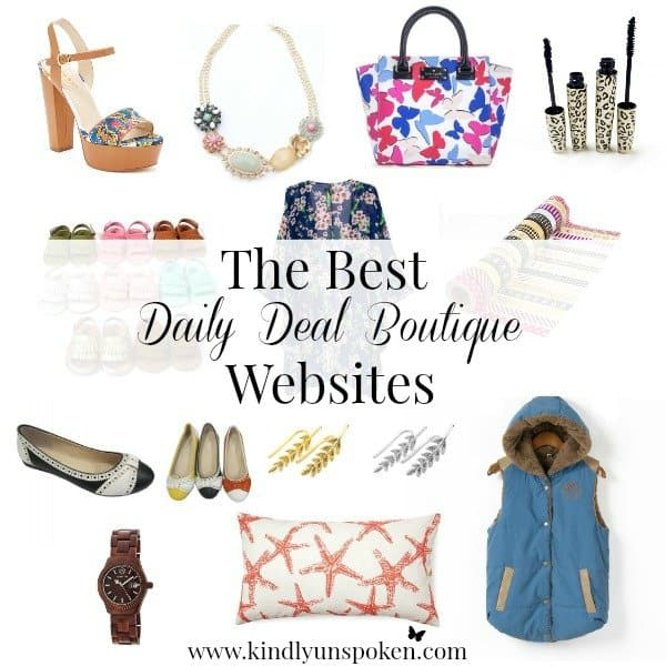 Best Daily Deal Boutique Websites