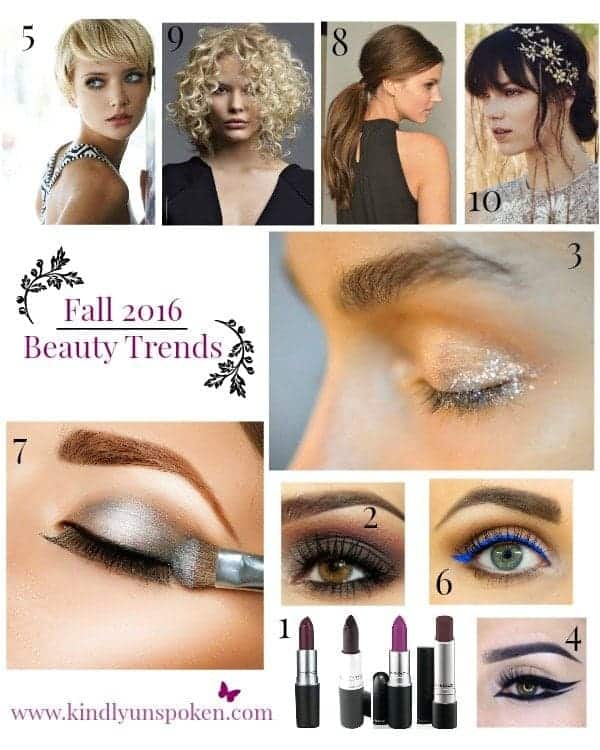 Gorgeous Fall 2016 Beauty Trends