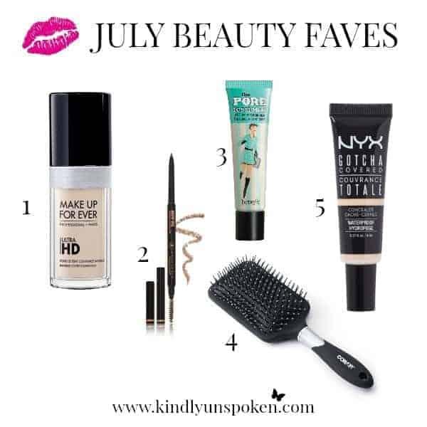 July Beauty Favorites Kindly Unspoken