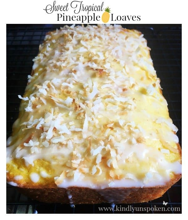 Sweet Tropical Pineapple Loaves