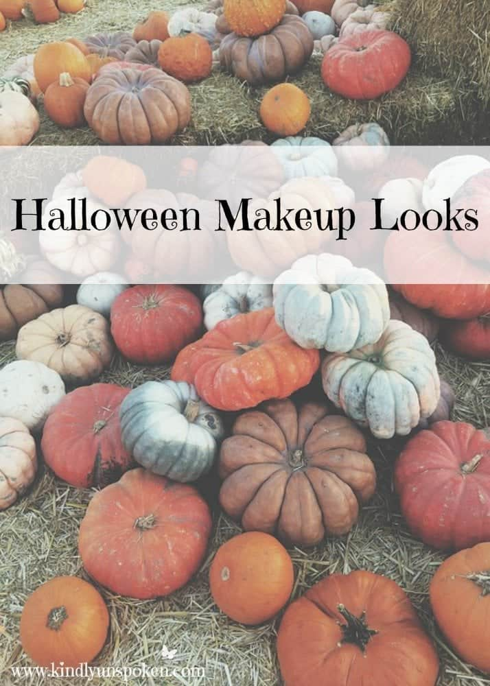 These 5 Pretty + Easy Halloween Makeup Looks will inspire you to get creative with your makeup this year for Halloween. From pretty and girly to spooky and scary, these makeup looks are perfect for wearing to all your Halloween parties!
