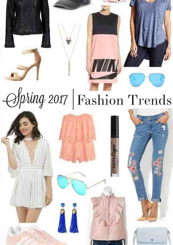Spring 2017 Fashion Trends to Try