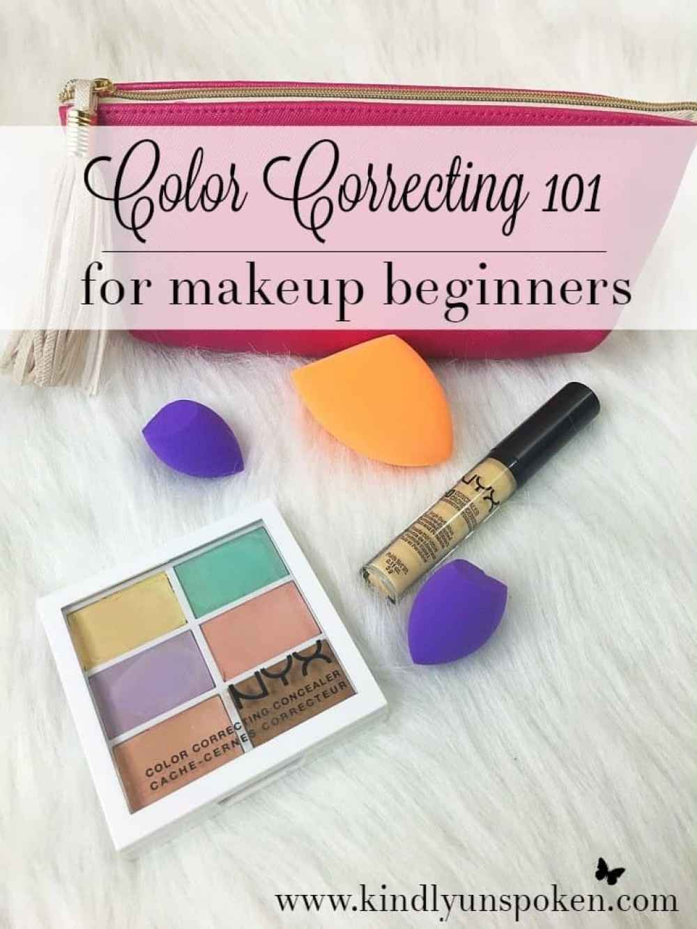 Wondering how to cover up those pesky dark circles once and for all? Then check out my guide on Color Correcting 101 For Makeup Beginners where I'm sharing how to use color-correcting makeup, how to apply color correctors + a helpful chart on which colors to use, and the best drugstore and high end makeup products to cover up dark circles, dark spots, and redness. #colorcorrecting #concealer #makeup #makeupguide #makeuptips