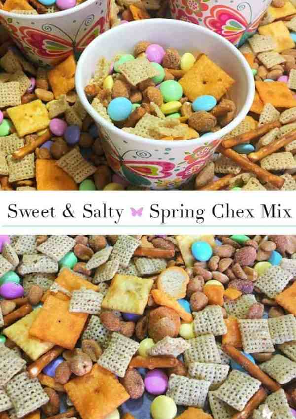 5-Minute Sweet & Salty Spring Chex Mix