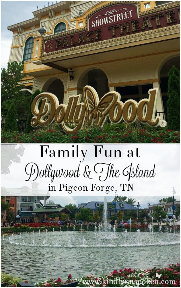 Family Fun at Dollywood and The Island Pigeon Forge