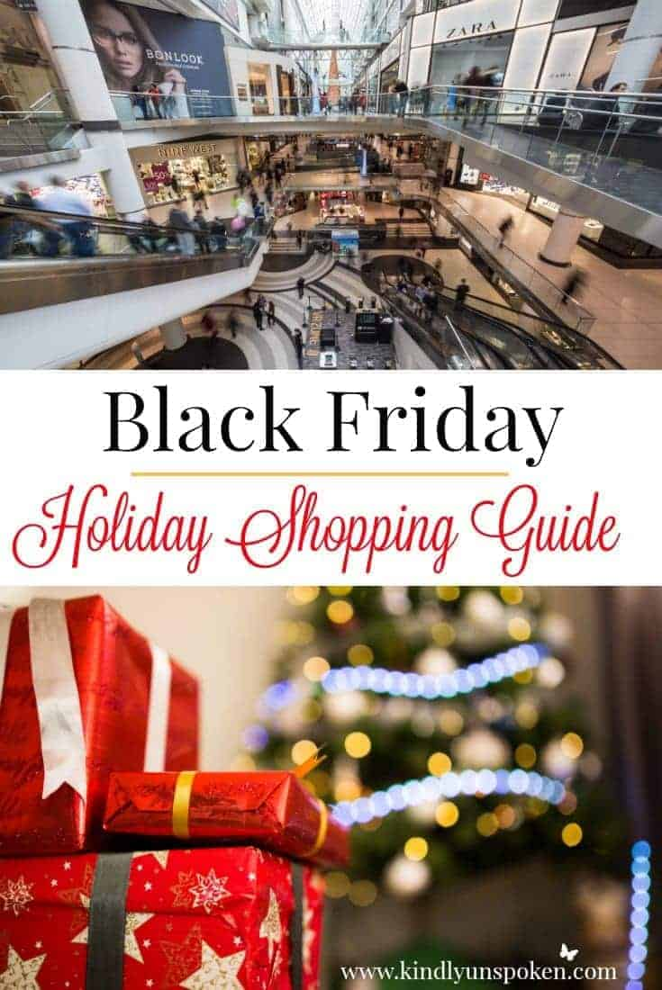 Black Friday Holiday Shopping Guide- Tips to Avoid Overspending + How to Find the Best Deals