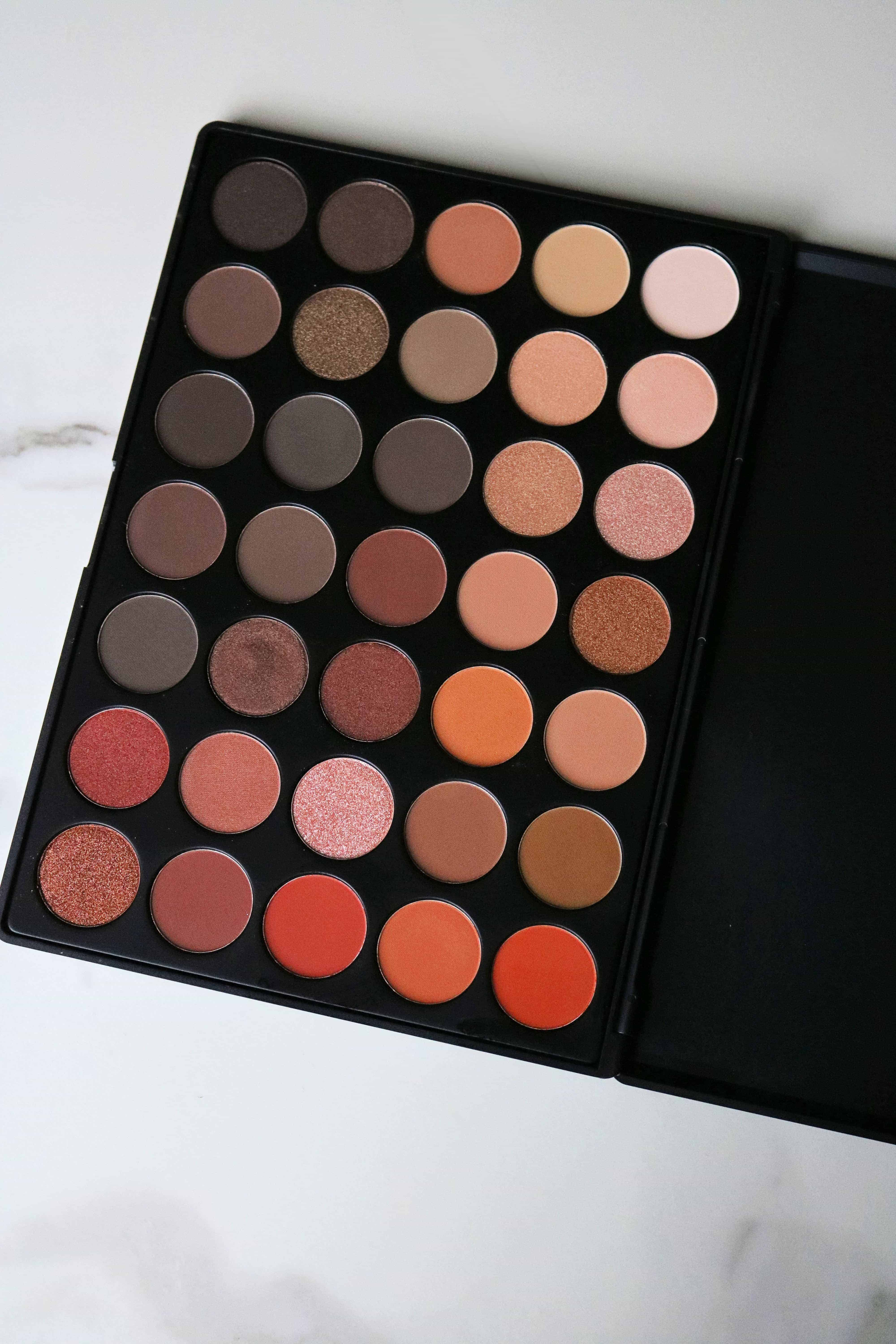 Morphe 350 Nature Glow Eyeshadow Palette Review Kindly Unspoken