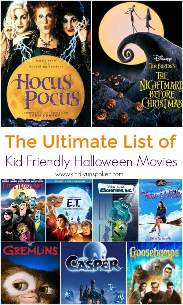 if youre looking for the perfect list of kid friendly halloween movies to