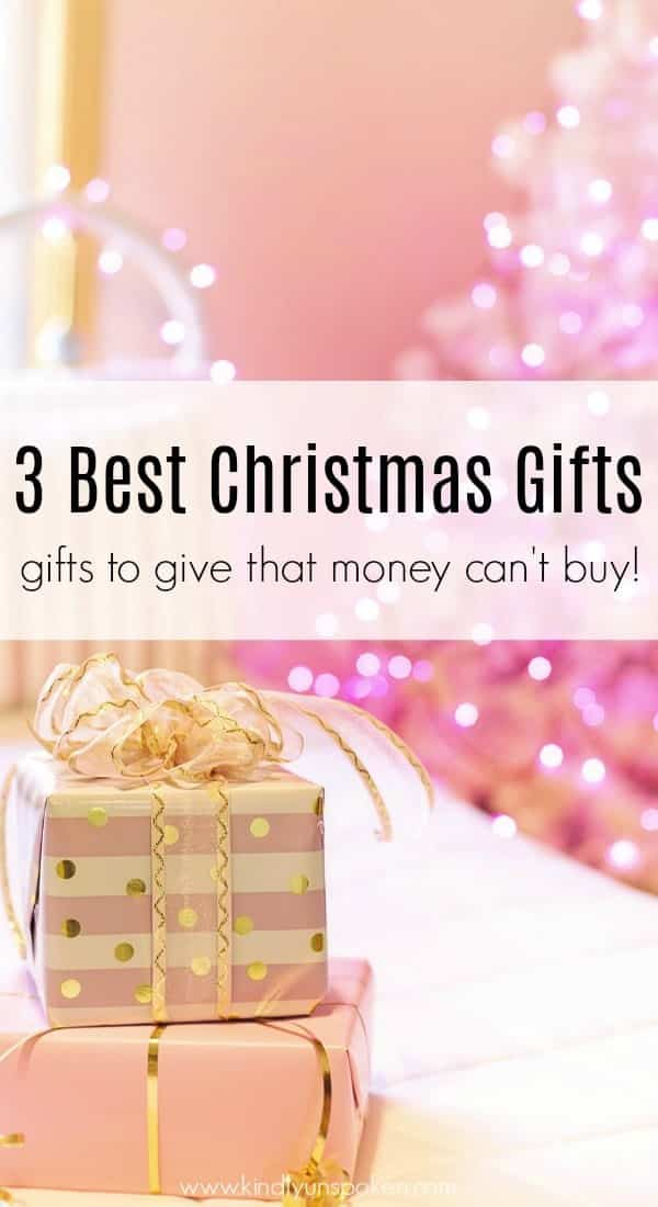 The best Christmas gifts aren't wrapped under a tree. Today I'm sharing The Best Christmas Gifts Money Can't Buy that everyone will love year after year.