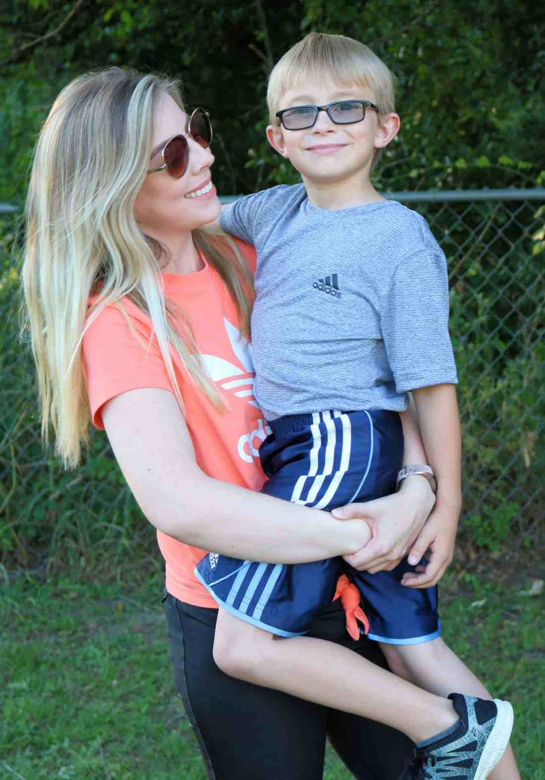 Sharing our favorite outdoor family activities plus our favorite activewear outfits from adidas to wear in the summer months! #adidas #activewear #healthylifestyle