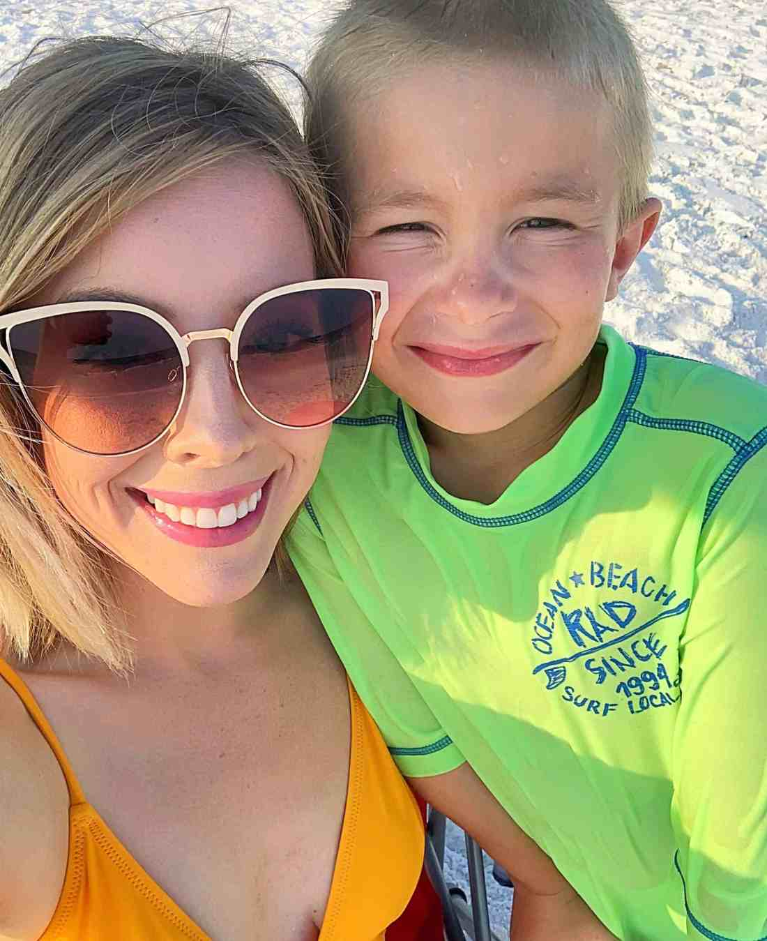 Sharing a recap of our family's first florida beach vacation to Seagrove Beach, FL. Check out the gorgeous beach, where we stayed, and what to see and do! #floridavacation #beachvacation #seagrovebeach