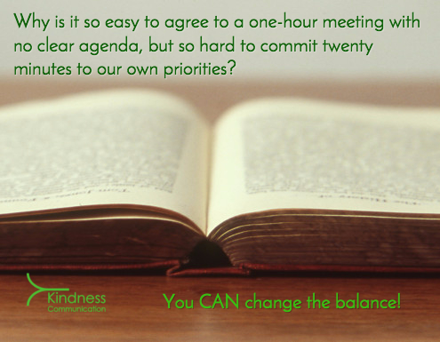 Meetings Versus Priorities