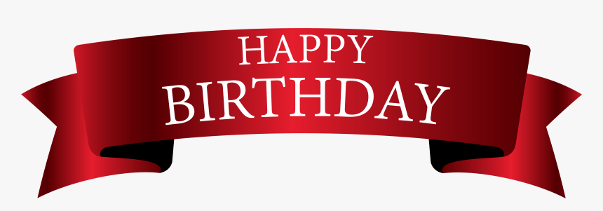 Birthday Cliparts Transparent Banner Happy Birthday Banner Png Png Download Kindpng