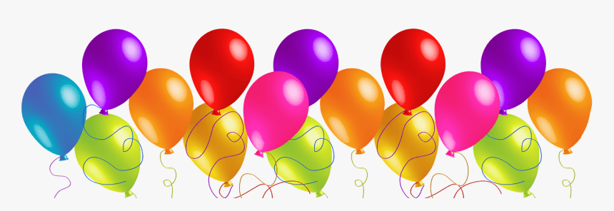 Party Balloons Birthday Balloons Clip Art Free Hd Png Download Kindpng
