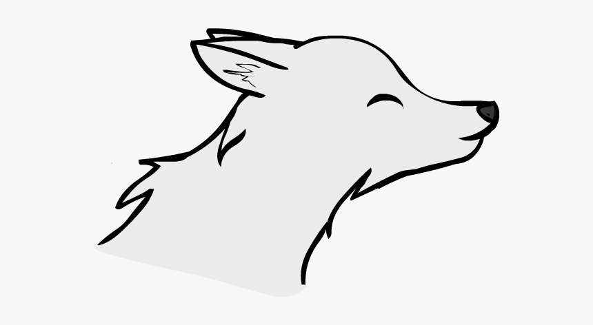 Anime Cute Wolves Drawings Love Hd Png Download Kindpng
