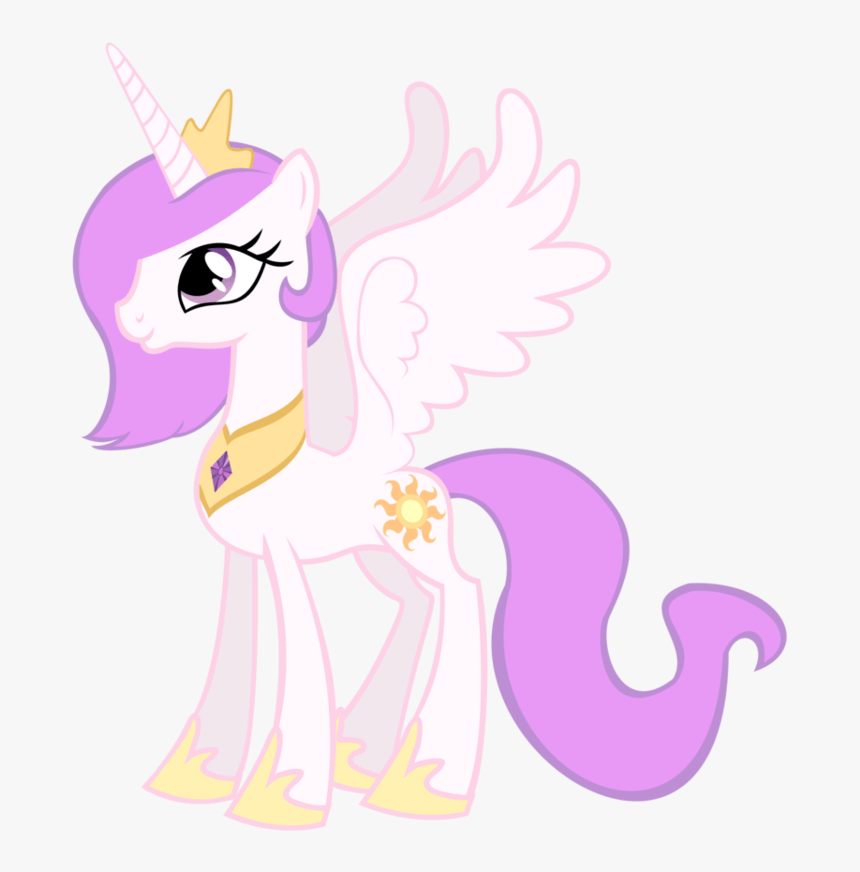 Young Celestia My Little Pony Princess Celestia Baby Hd Png Download Kindpng