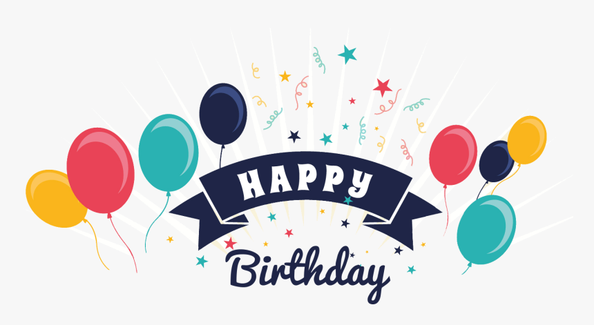 Happy Birthday Png Vector Transparent Png Kindpng