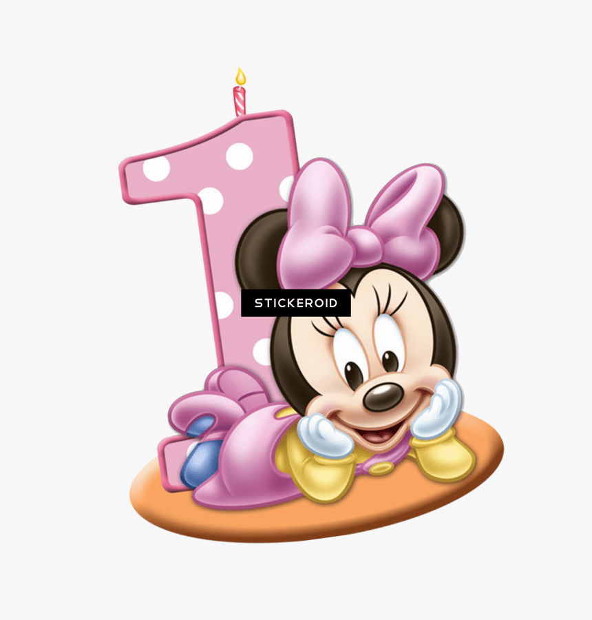 Minnie Mouse 1 Png Baby Minnie Mouse Birthday Transparent Png Kindpng