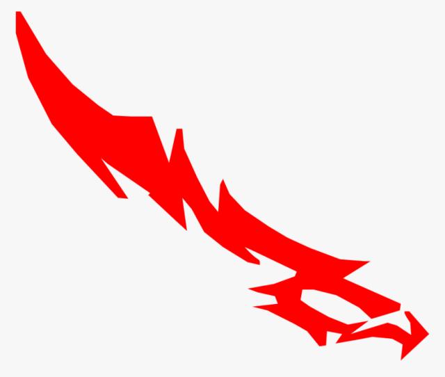 Anime Lightning Png Gambar Pedang Halilintar Boboiboy