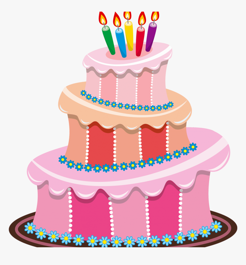 Birthday Cake Clip Art Free Cute Birthday Cake Clipart Cake Transparent Background Birthday Clipart Hd Png Download Kindpng
