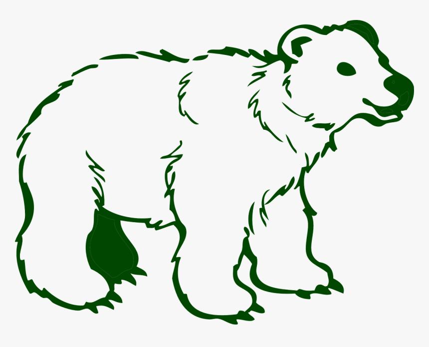 Outline Pictures Of Wild Animals Hd Png Download Kindpng