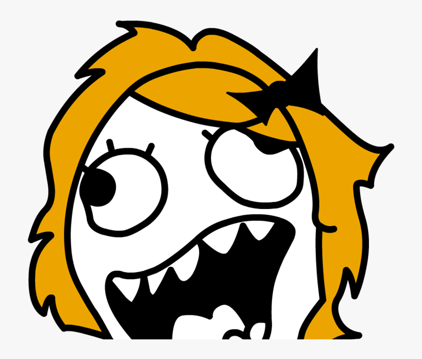 Troll Face Memes Png Png Download Girl Troll Face Png