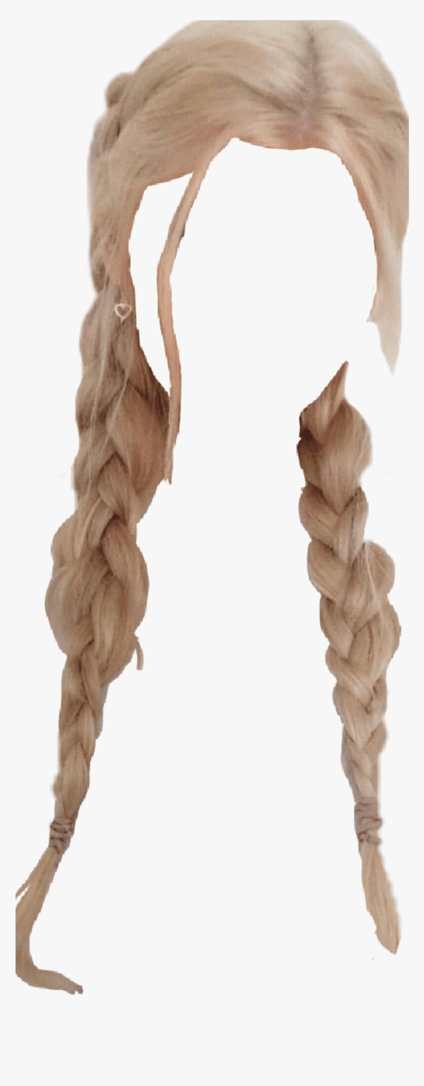 Blonde Hair Af Blonde Hair Braids Png Transparent Png Kindpng