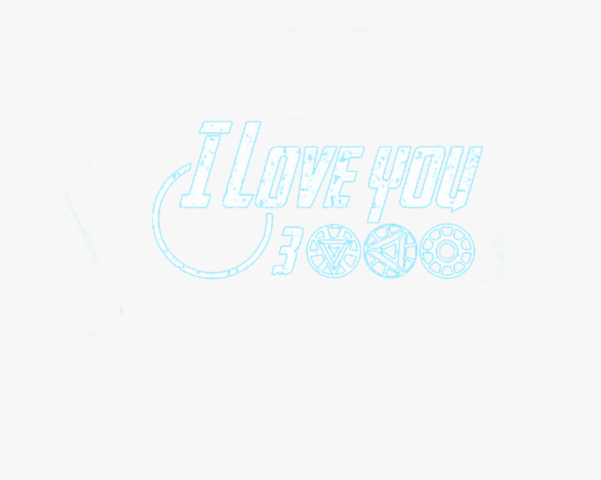 Download Iron Man Love You 3000 Png - Calligraphy, Transparent Png ...