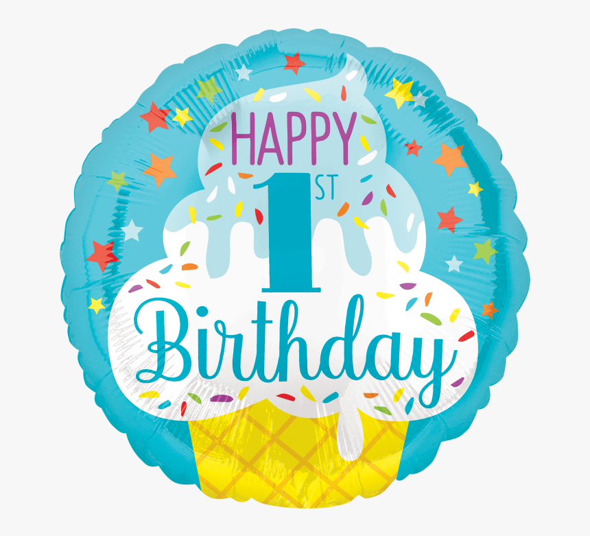 Happy Birthday 1st Boy Hd Png Download Kindpng