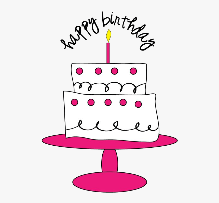 Birthday Cupcake Cupcakes Clipart Free Best Transparent Pink Birthday Cake Clip Art Free Hd Png Download Kindpng