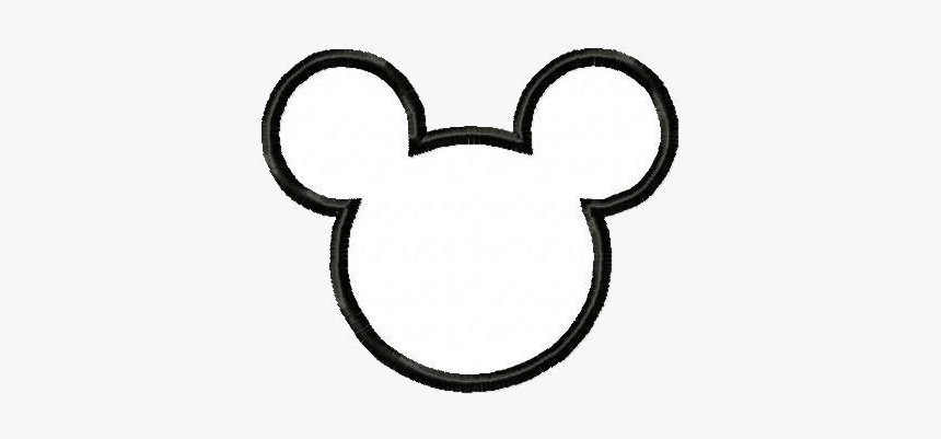 Mickey Mouse Head Outline Of Free Clip Transparent Mickey Mouse Head Outline Hd Png Download Kindpng