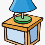 Nighlight Clipart Svg Download Night Light Clipart Cartoon Lamp On Table Hd Png Download Kindpng