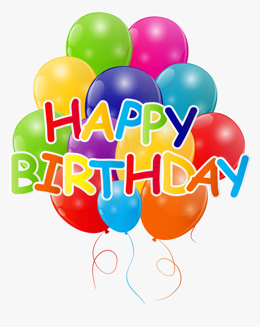 Balloon Birthday Clip Art Birthday Party Hd Png Download Kindpng